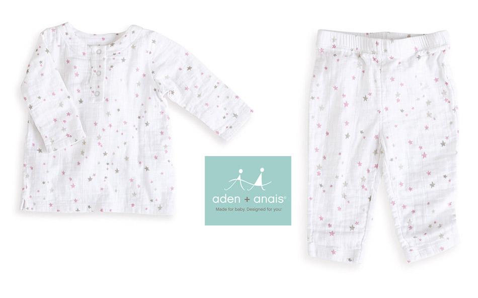 Pijama de muselina de aden+anais