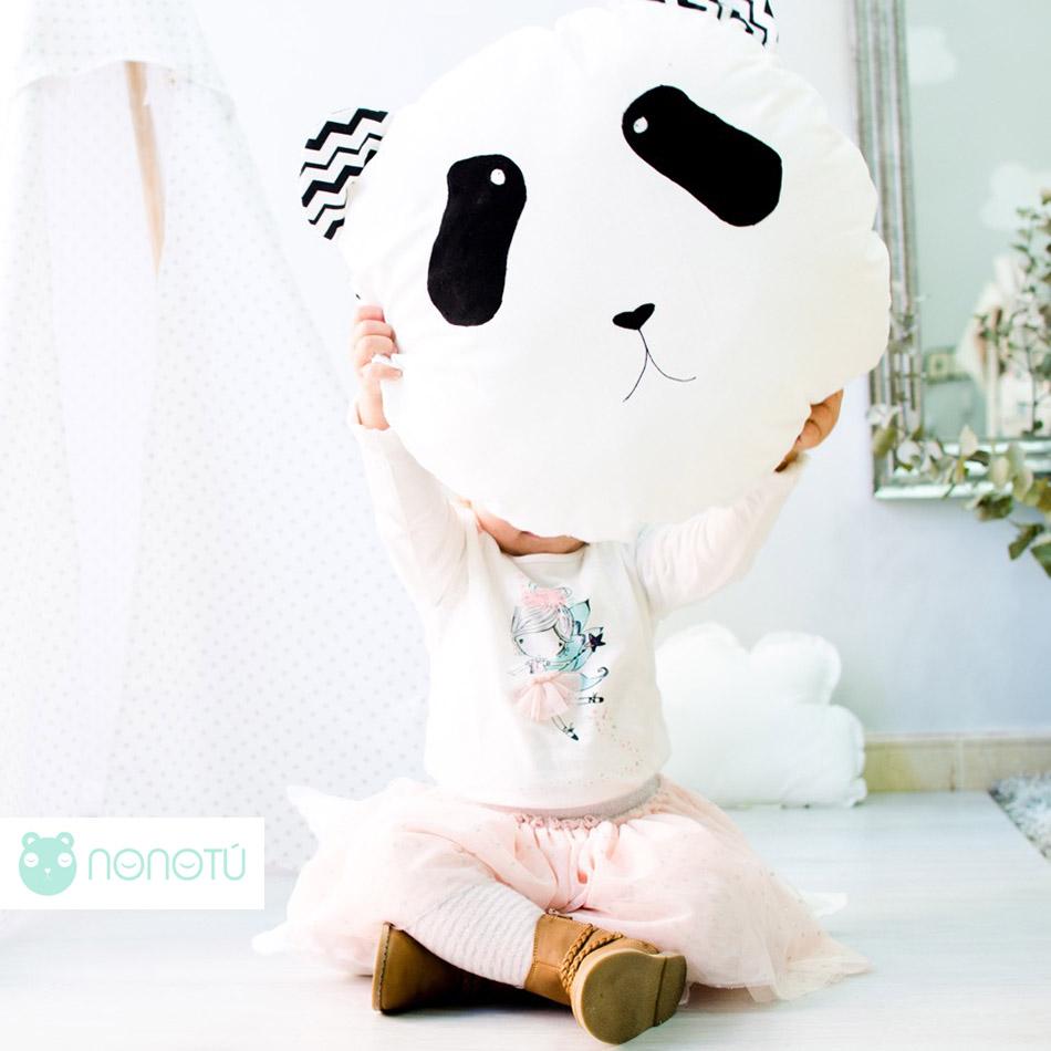 cojín panda de nonotu