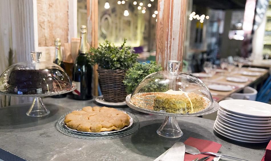 restaurante saporem. tartas