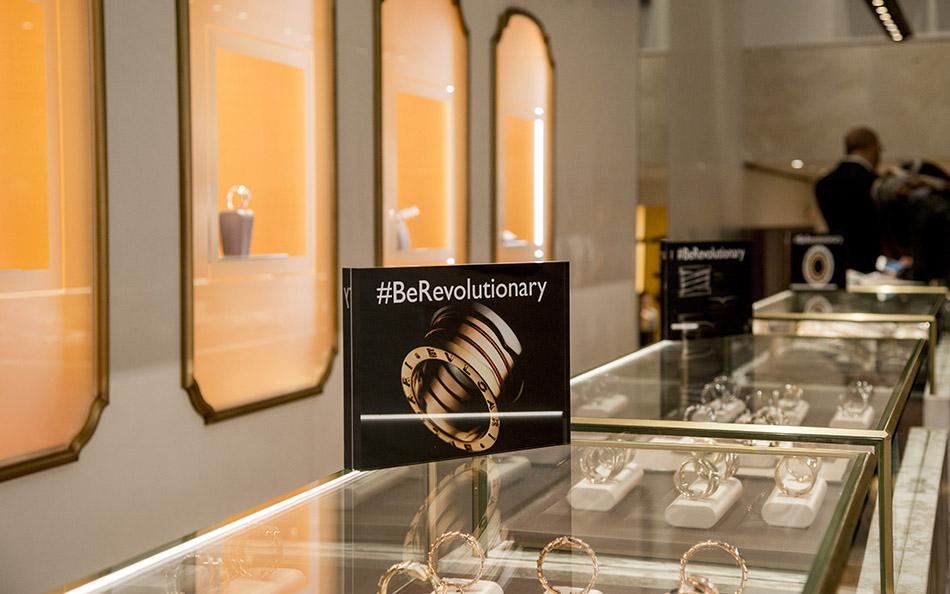evento de presentación del nuevo anillo BZero 1 The Perfect Mistake en su tienda de Serrano, Madrid