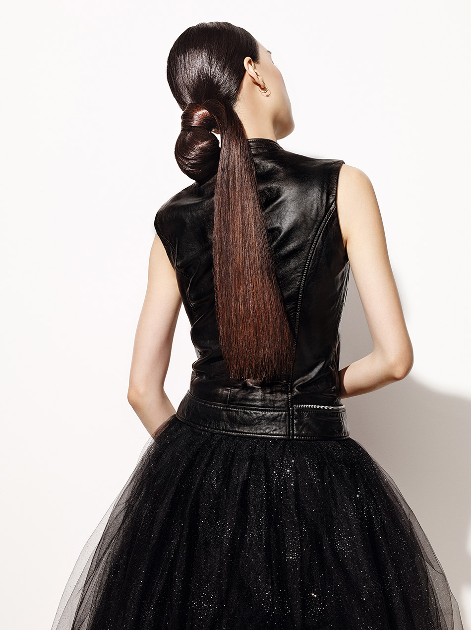 loreal hair fashion night hairstyle ambassador 04