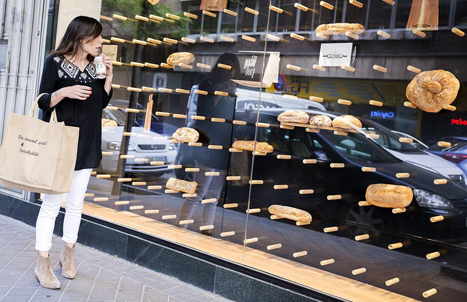escaparate de panadería