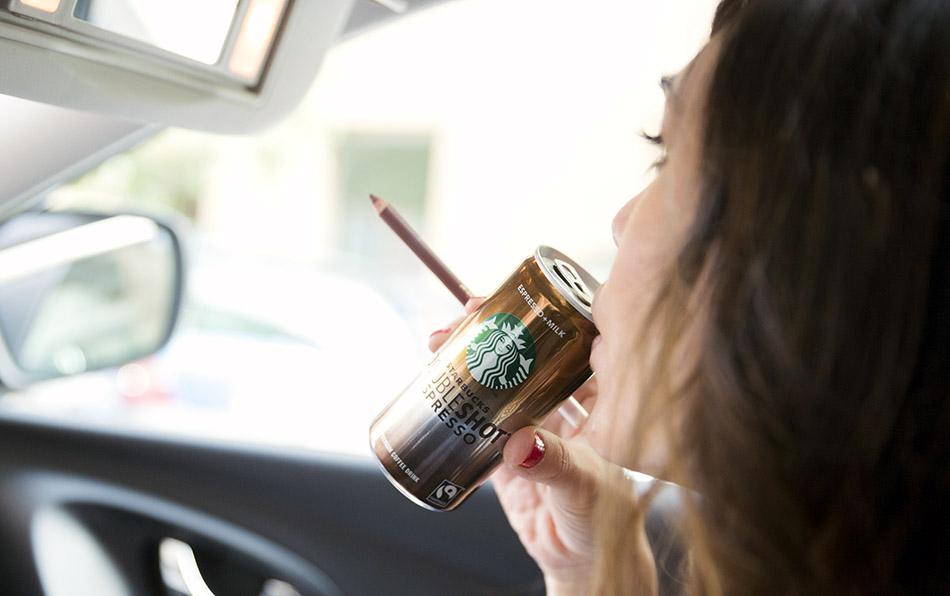 bebida fría Starbucks