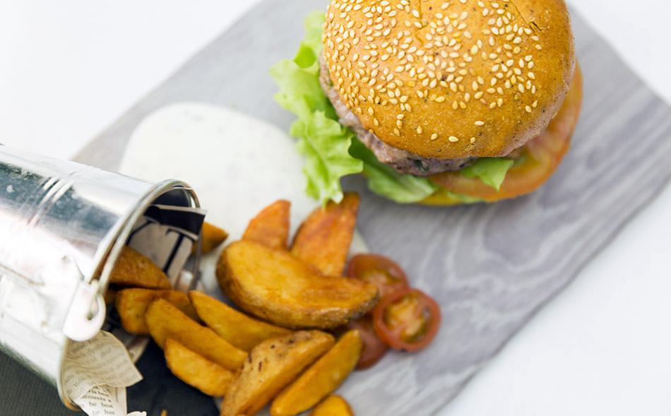 hamburguesa de tofu vegetariana, vincci soma
