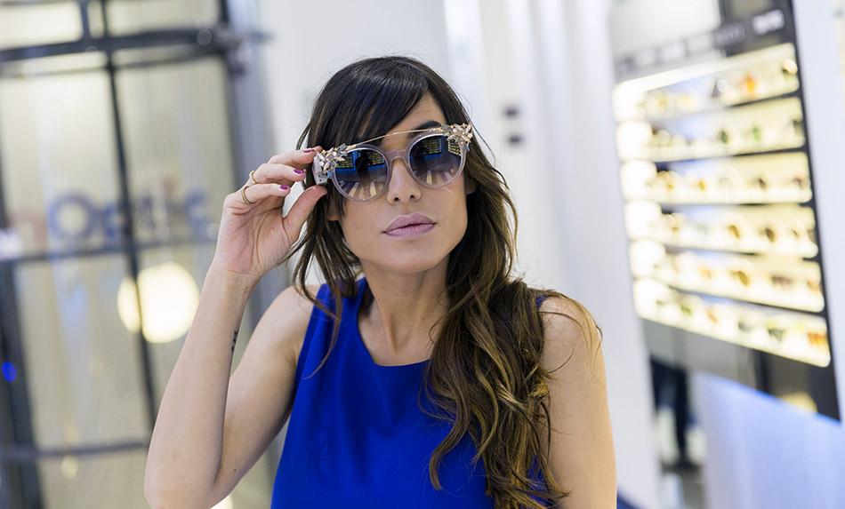 tienda GranOptic, Goya, Madrid. Gafas Dolce &Gabbana