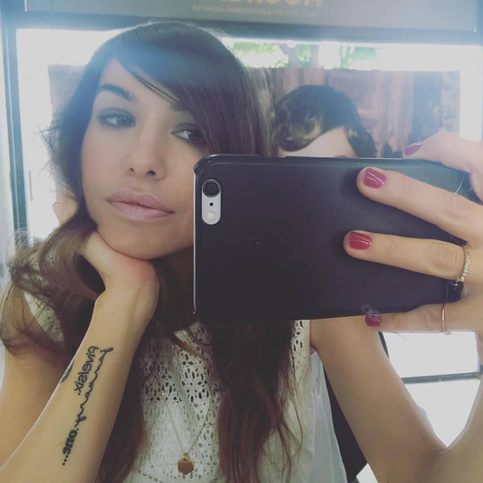 selfie de bárbara crespo