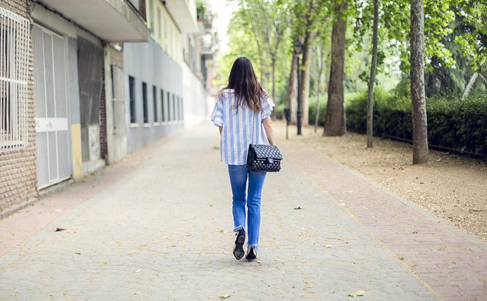 street style shein shirt zara jeans hakei sandals 03