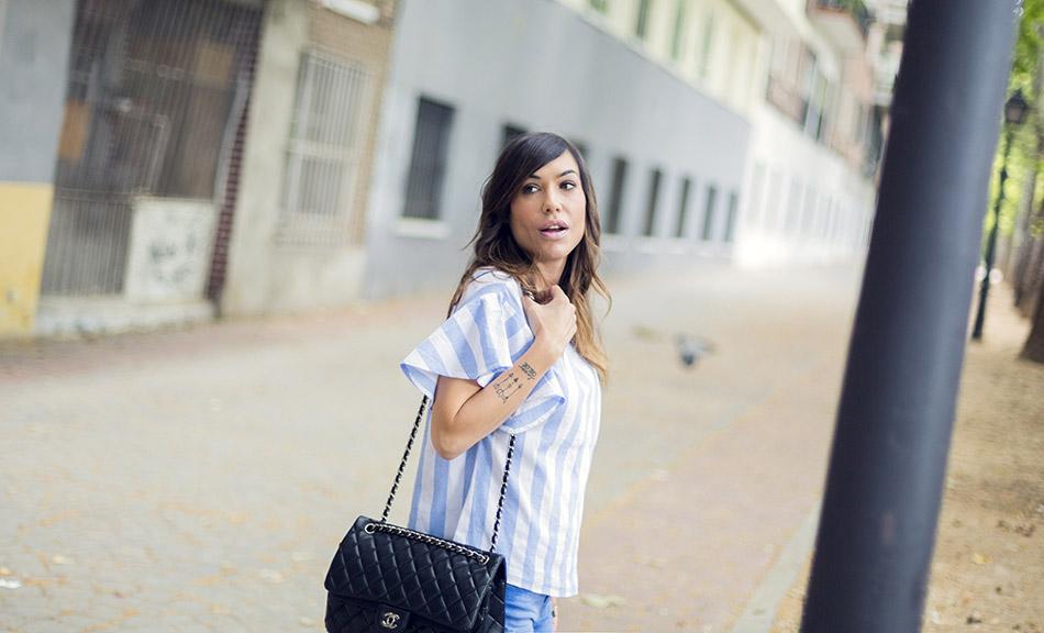 street style shein shirt zara jeans hakei sandals 04