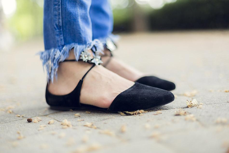 street style shein shirt zara jeans hakei sandals 10