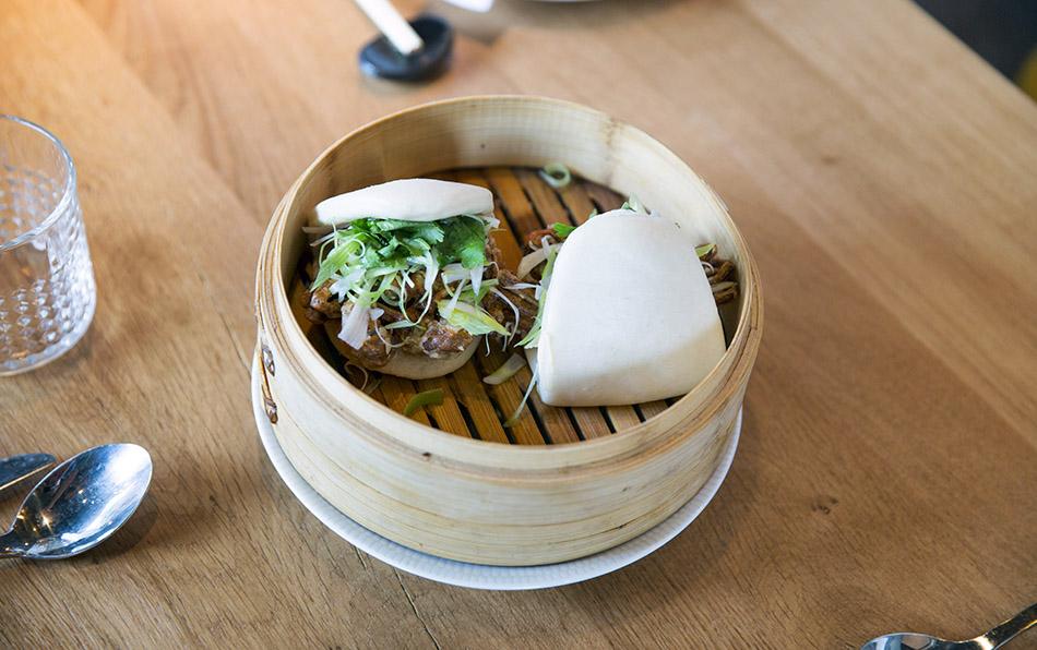restaurante Sasha Boom, pan bao