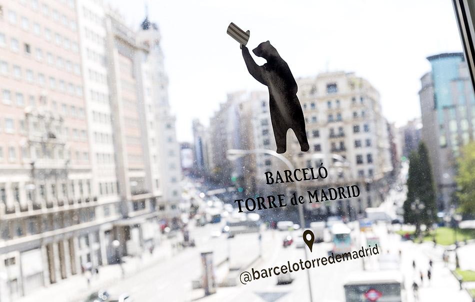 restaurante Somos Garra del Hotel Barceló Torre de Madrid
