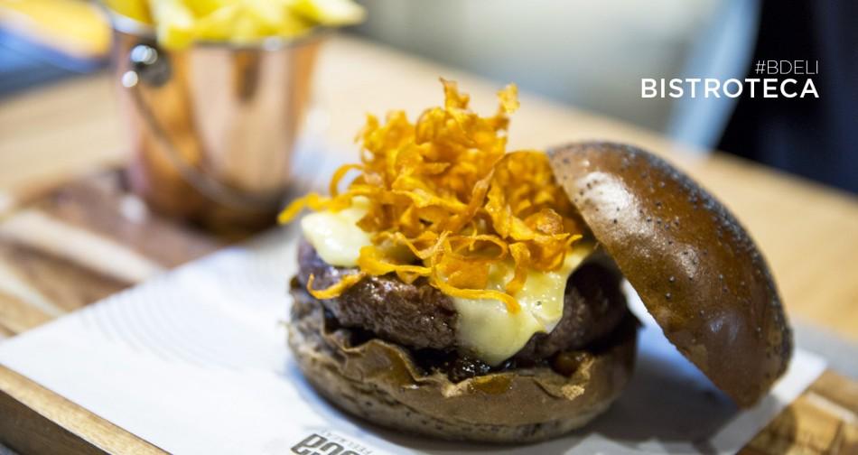 hamburguesa de la bistroteca