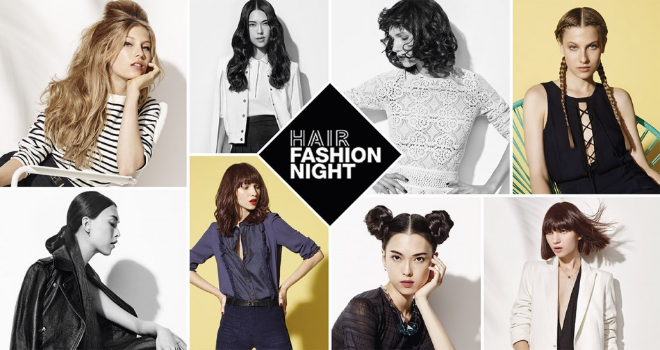 hair fashion night de Loreal