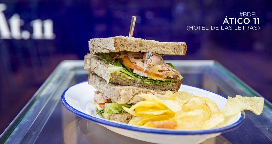 sandwich. hotel de las letras. ático 11