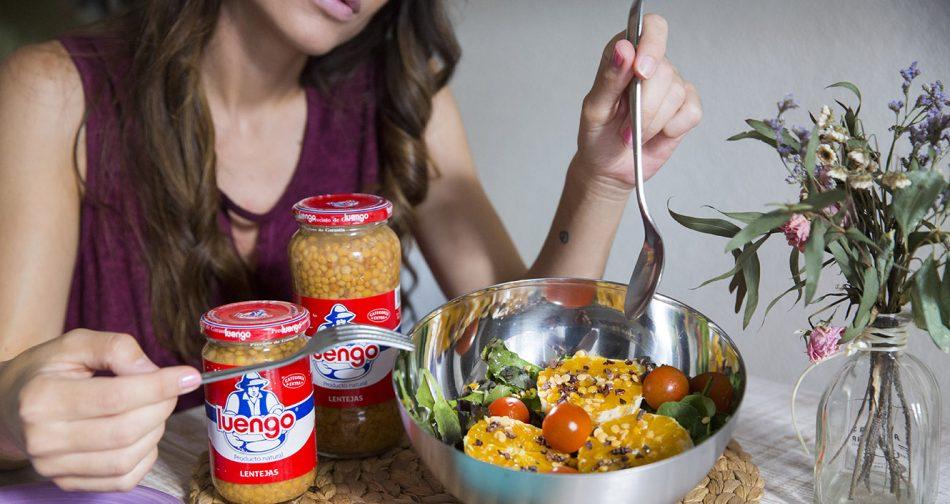 recetas con legumbres. luengo