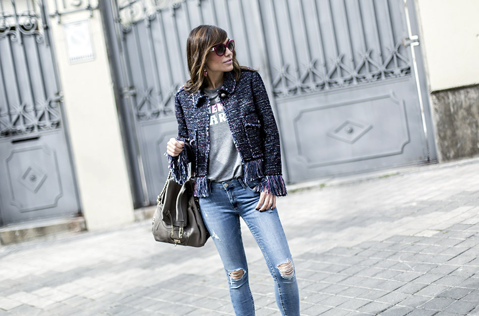 Tous Zara Reiko Street Jacket Bicyclette A Style Tshirt fvYymbI7g6